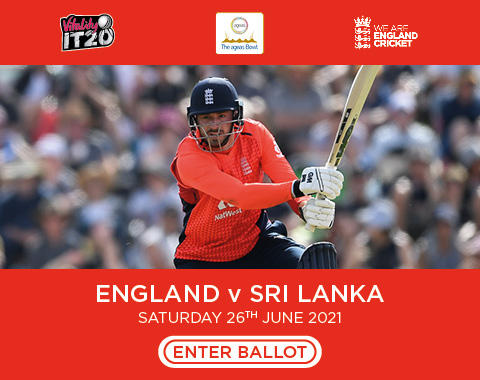 The Ageas Bowl To Host England v Sri Lanka Vitality IT20 In 2021 – Ballot Open For Ticket Applications